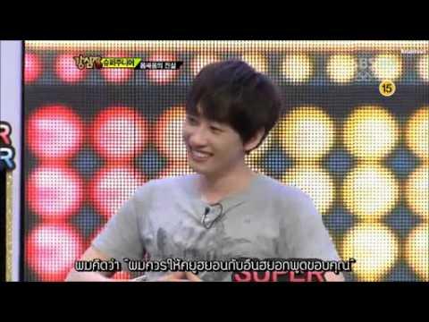 [Thaisub] 120724 หัวใจแข็งแรง Super junior Cut 2/2