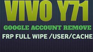 vivo y71 1724 pattern lock remove and frp lock solution 100