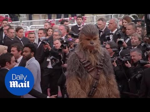 Solo: A Star Wars Story holds Cannes premiere - Daily Mail