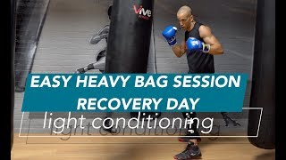 Easy Heavy Bag Boxing Workout | Beginners | Recovery Day |