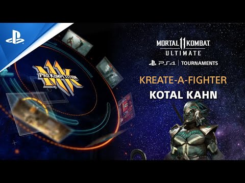 Mortal Kombat 11 Ultimate - Kreate-A-Fighter Kotal Kahn (Biohazard)   PS CC