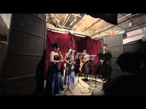 Tsukuba Saxophone Quartet - Traditional / Eiko Orita - Greensleeves