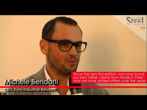 Michele Bendotti about Made in Steel 2015