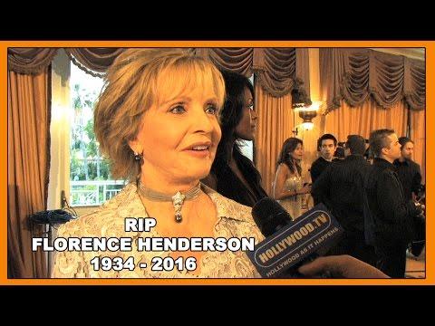 RIP Florence Henderson - Hollywood TV