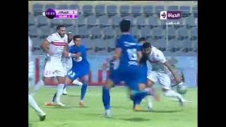 إبراهيم عبد الخالق يفتتح التسجيل للزمالك بهدف ولا اروع في الدقيقة ...