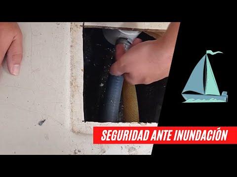 Medidas de seguridad para prevenir inundaciones en un velero