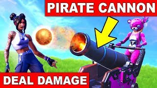 """""""DEAL DAMAGE TO OPPONENTS WITH A PIRATE CANNON"""" - EASY GUIDE WEEK 2 CHALLENGES (FORTNITE SEASON 8)"""