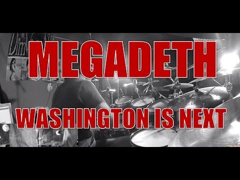 MEGADETH - Washington is next - drum cover (HD)