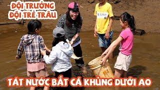 Chị Thơ Cầm Đầu Hội Trẻ Trâu Đi Bắt Cá Ở Quê