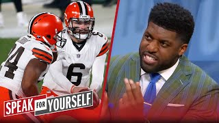 Baker's Browns proved they're serious in playoff win over Steelers — Acho | NFL | SPEAK FOR YOURSELF