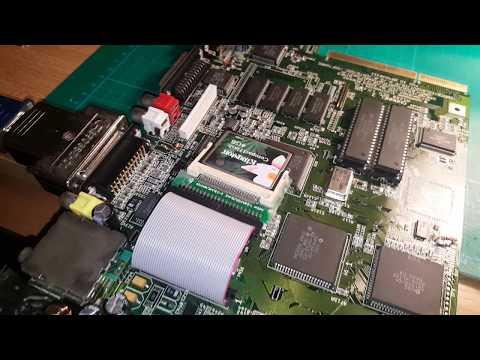 Otro Amiga 1200 recapeado
