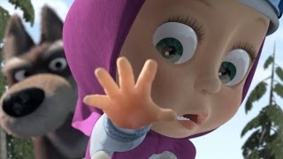 Masha and The Bear - Prances with wolves (Episode 5)