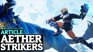 New Fist Weapons - A look at Aether Strikers in Dauntless
