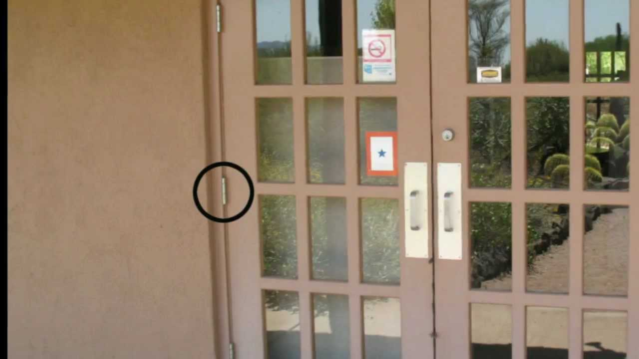 Exterior Door Hinges Can Create Security Problems Youtube