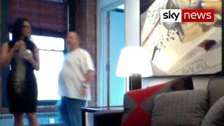Exclusive: Video shows Harvey Weinstein behaving inappropriately