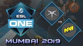 Mineski vs Navi / Bo3 / Playoffs /  ESL One Mumbai 2019 / Dota 2 Live