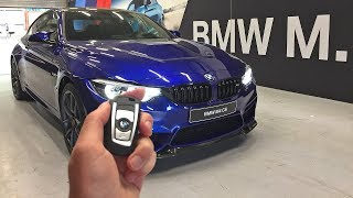 The NEW 2017 BMW M4 CS – Engine Start Up, Revs, Overview