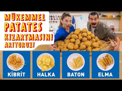 Mükemmel Patates Kızartmasını Arıyoruz! Evde Çıtır Çıtır Patates Kızartmasına Ulaşma Rehberi
