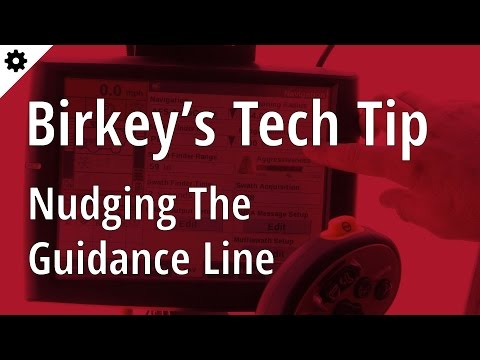 Birkey's Tech Tip: Nudging the guidance line in a Case IH combine
