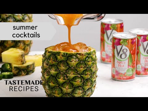 6 Treats & Elevated Cocktails For Summer Sipping