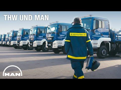 THW und MAN - für eine sichere Fahrt