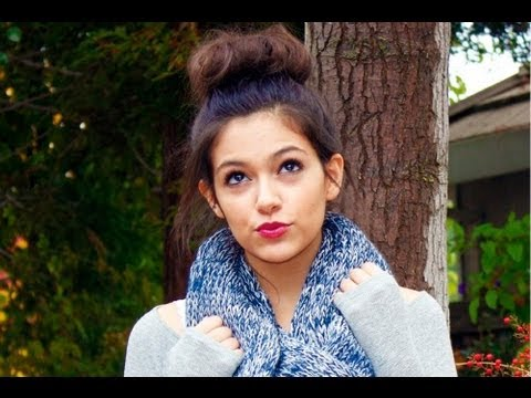 High Messy Bun By MacBarbie07