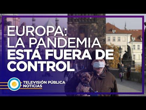 Europa: la pandemia está fuera de control
