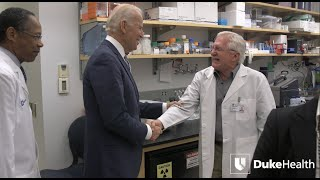 Vice President Joe Biden Visits Duke As Part of Cancer Cure Initiative video