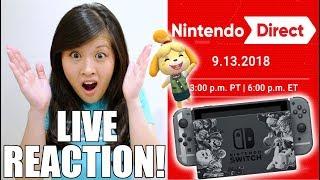 LIVE REACTION! Nintendo Direct 9.13.2018