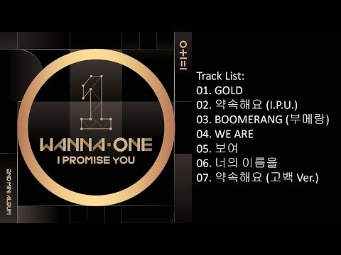 [Full Album] Wanna One – 0+1=1 (I PROMISE YOU) (Mini Album)