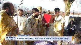 A fost resfintita biserica din Parohia Prilipet