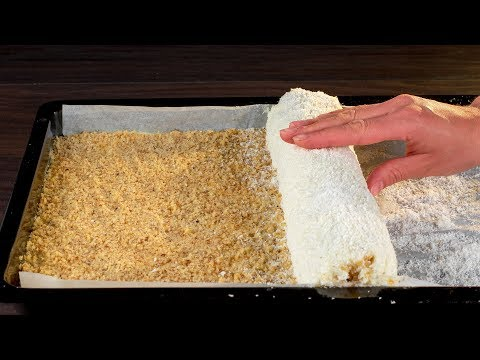 Жизнь скучнее без него! Кокосовый рулет, который никого не оставит равнодушным. | Appetitno.TV photo
