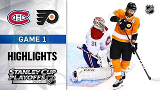 NHL Highlights | First Round, Gm1 Canadiens @ Flyers - Aug. 12, 2020