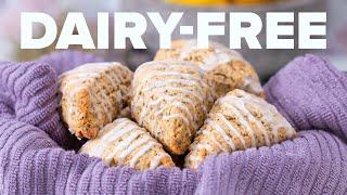 Dairy-Free Lavender Lemon Scones