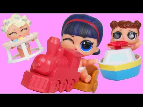 NEW LOL Dolls Dress Up Wrong Heads with Wave 2 Eye Spy Pets