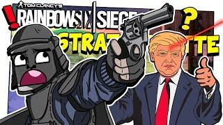 SALVATE Mr. PRESIDENT! STRATROULETTE TROLLS (Minigames Rainbow Six Siege ITA Funny Moments)