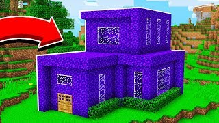 Turning My Friend's House Into PORTALS *PRANK* in Minecraft Pocket Edition! - REALMS EP24