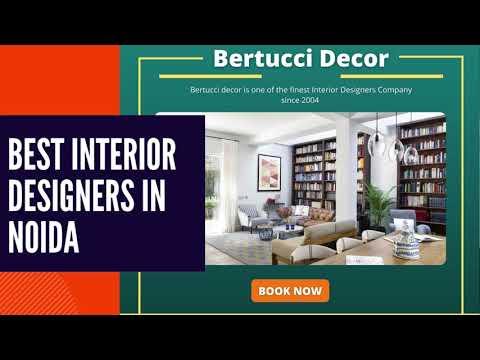 Best Modular Interior Designer in Noida Delhi NCR - Bertucci Decor