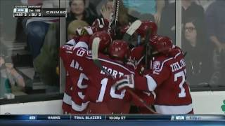 Recap: Men's Ice Hockey Wins 65th Annual Beanpot