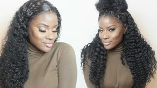 No Glue, No Tape, No Leave Out   FLAWLESS Lace Frontal Installation + 6 Ways To Style It   Zee.Elle