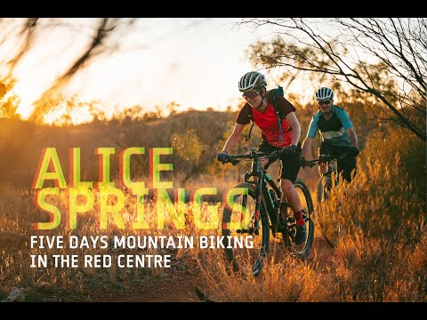 Alice Springs: Five Days on the Bike in the Red Centre - part 1