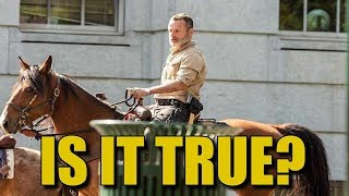 The Walking Dead Latest Andrew Lincoln News - Is It True About Rick Grimes For Season 9?