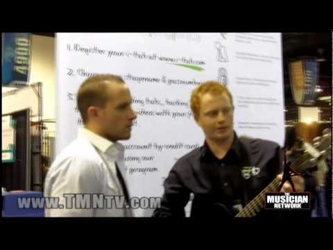 WINTER NAMM 2010  |   i-Tab Booth & Product Demonstration
