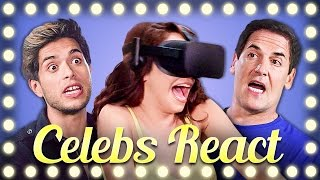 CELEBS REACT TO VR | DON'T LET GO!!!