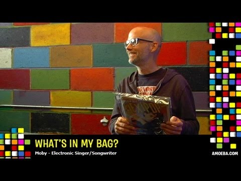 Moby - What's In My Bag? - YouTube
