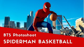 The Professor aka Spiderman Basketball Photoshoot