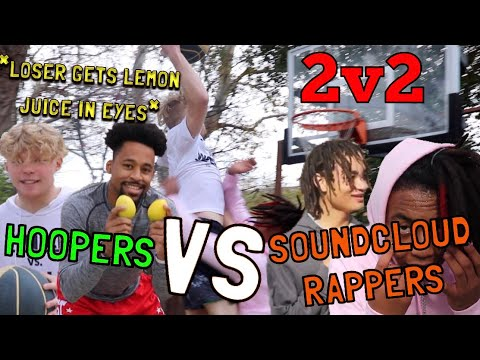 Hoopers VS SoundCloud Rappers! 2v2