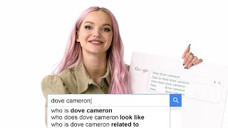 Dove Cameron Answers the Web's Most Searched Questions | WIRED