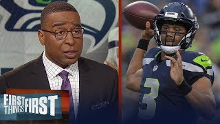 Russell Wilson agrees to record contract with Seattle, Cris Carter reacts   NFL   FIRST THINGS FIRST