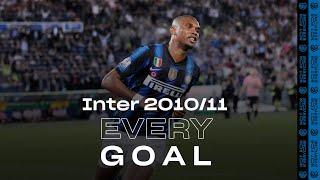 EVERY GOAL! | INTER 2010/11 | Eto'o, Milito, Sneijder, Stankovic, Coutinho and many more... ⚽⚫🔵😮